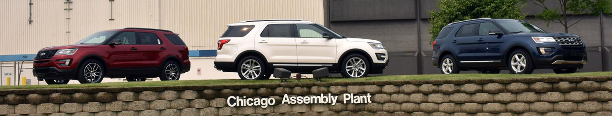 2016 Ford Explorer at Chicago Assembly Plant